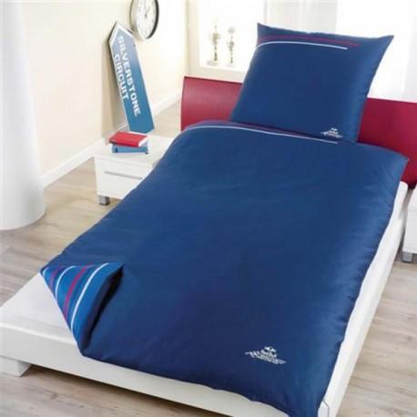 housse de couette red bull bleu licence officielle. Black Bedroom Furniture Sets. Home Design Ideas