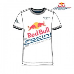 red bull T-shirt blanc fireball