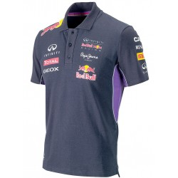 AUTHENTIC PEPE JEANS INFINITI RED BULL RACING F1 TEAM MEN BUTTON POLO