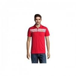 Polo rouge FERRARI logotypé TAILLE XL