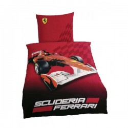 Housse couette & taie Ferrari race 2